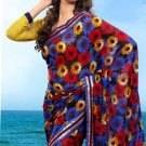 Partywear Faux Georgette Designer Exclusive Printed Saree With Blouse- NT 175a N