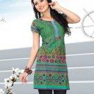 Indian Bollywood Cotton Partywear Kurti Kurta Tops - X 1023B