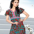 Indian Bollywood Cotton Partywear Kurti Kurta Tops - X 1014A