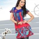 Indian Bollywood Cotton Partywear Kurti Kurta Tops - X 1015B
