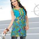 Indian Bollywood Cotton Partywear Kurti Kurta Tops - X 1018B