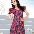 Indian Bollywood Cotton Partywear Kurti Kurta Tops - X 1022A