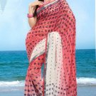 Partywear Faux Georgette Designer Exclusive Printed Saree With Blouse- NT 166a N