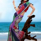 Partywear Faux Georgette Designer Exclusive Printed Saree With Blouse- NT 179a N