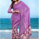 Partywear Faux Georgette Designer Exclusive Printed Saree With Blouse- NT 162a N