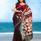 Partywear Faux Georgette Designer Exclusive Printed Saree With Blouse- NT 178b N