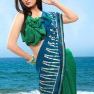 Partywear Faux Georgette Designer Exclusive Printed Saree With Blouse- NT 171b N