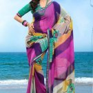 Partywear Faux Georgette Designer Exclusive Printed Saree With Blouse- NT 179b N