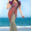 Partywear Faux Georgette Designer Exclusive Printed Saree With Blouse- NT 170b N