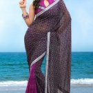 Partywear Faux Georgette Designer Exclusive Printed Saree With Blouse- NT 172b N