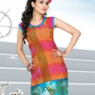 Indian Bollywood Cotton Partywear Kurti Kurta Tops - X 1021A