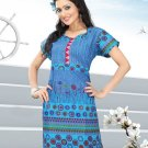Indian Bollywood Cotton Partywear Kurti Kurta Tops - X 1023A