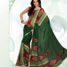 Partywear Faux Georgette Exclusive Printed Saris Saree With Blouse - VF 8382B N