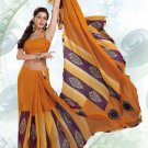 Partywear Faux Georgette Exclusive Printed Saris Saree With Blouse - VF 8382A N