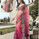 Net Wedding Bridal Embroidered Saris Saree With Blouse- RS 414 N