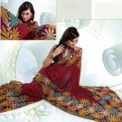 Partywear Faux Georgette Exclusive Printed Saris Saree With Blouse - VF 8391A N