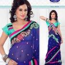 Saris Sarees Indian Bollywood Designer Bridal Wedding Embroidered - TS 20014