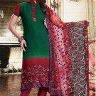 Georgette Bollywood Wedding Salwar Kameez Shalwar Suit - DZ 5118a N