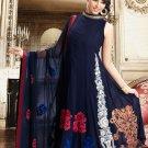 Georgette Bollywood Wedding Salwar Kameez Shalwar Suit - DZ 5100c N