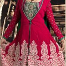 Georgette Bollywood Wedding Salwar Kameez Shalwar Suit - DZ 5106a N