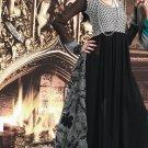 Georgette Bollywood Wedding Salwar Kameez Shalwar Suit - DZ 5101b N