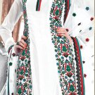 Georgette Bollywood Wedding Salwar Kameez Shalwar Suit - DZ 5103a N