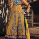 Net Bollywood Wedding Salwar Kameez Shalwar Suit - DZ 5126b N