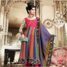 Georgette Bollywood Wedding Salwar Kameez Shalwar Suit - DZ 5123a N