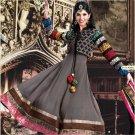 Georgette Bollywood Wedding Salwar Kameez Shalwar Suit - DZ 5111c N