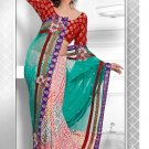 Saris Sarees Indian Bollywood Designer Bridal Wedding Embroidered - TS 16008