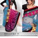 Saris Sarees Indian Bollywood Designer Bridal Wedding Embroidered - TS 16006