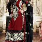 Georgette Bollywood Wedding Salwar Kameez Shalwar Suit - DZ 5102c N