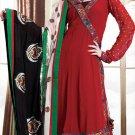 Georgette Bollywood Wedding Salwar Kameez Shalwar Suit - DZ 5120b N