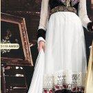 Net & Georgette Bollywood Wedding Salwar Kameez Shalwar Suit - DZ 5119a N