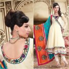 Georgette Bollywood Wedding Salwar Kameez Shalwar Suit - DZ 5120c N