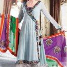 Georgette Bollywood Wedding Salwar Kameez Shalwar Suit - DZ 5120a N