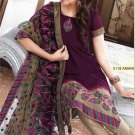 Georgette Bollywood Wedding Salwar Kameez Shalwar Suit - DZ 5118c N