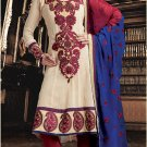 Georgette Bollywood Wedding Salwar Kameez Shalwar Suit - DZ 5110b N