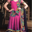 Net & Georgette Bollywood Wedding Salwar Kameez Shalwar Suit - DZ 5108a N