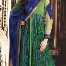 Georgette With Net Bollywood Wedding Salwar Kameez Shalwar Suit - DZ 5117a N