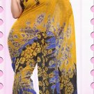 Casual Faux Georgette Designer Printed Sarees With Unstitch Blouse - X 2167B N