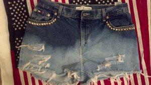 Bleach/Studded Shorts
