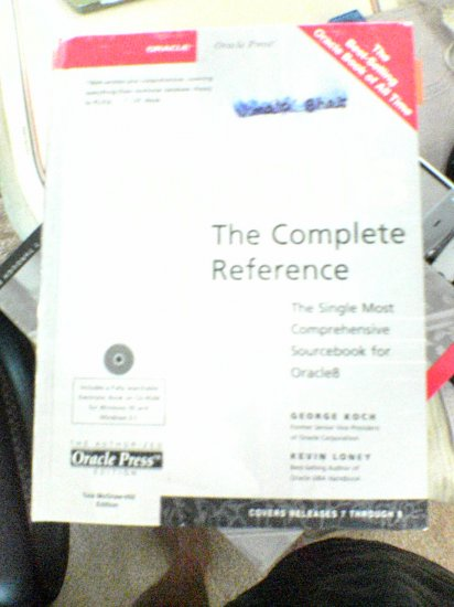 Oracle8 - The Complete Reference