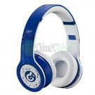 Syllable G08-003 Wireless Bluetooth Noise Cancellation DJ Headphone Over-Ear Headsets-Dark Blue