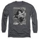"Wonder Woman ""Princess Of The Amazons"" Adult Long Sleeve T Shirt"