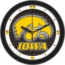 Iowa Hawkeyes Dimensional Wall Clock