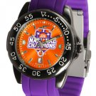 Clemson Tigers 2016 National Champions FantomSport AnoChrome Colored Band Watch