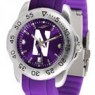 Northwestern Wildcats Sport AnoChrome Colored Band Watch