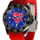 SMU Mustangs FantomSport AnoChrome Colored Band Watch