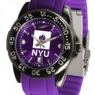 NYU Violets FantomSport AnoChrome Colored Band Watch